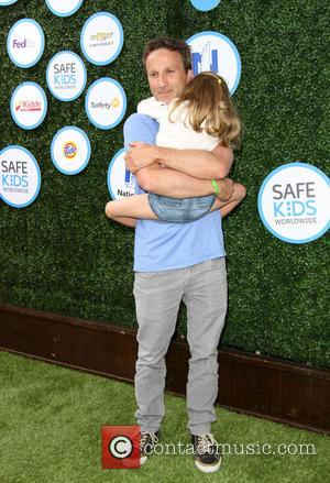 Breckin Meyer and Daughter Clover Meyer