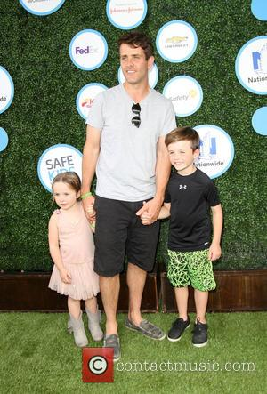 Joey Mcintyre, Daughter Kira Katherine Mcintyre and Son Griffin Thomas Mcintyre