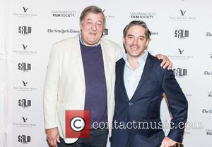 Stephen Fry and Matt Brown