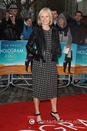 Mariella Frostrup - A Hologram For The King UK Premiere at the BFI Southbank, London at BFI Southbank - London,...