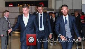 Real Madrid, Toni Kroos, James Rodrigues and Sergio Ramos