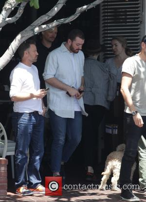 Sam Smith - Sam Smith leaving after having lunch with a male friend - West Hollywood, California, United States -...