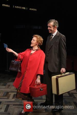 Patricia Hodge and Steven Pacey As Henry