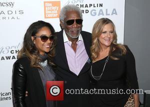 Alexis Freeman, Morgan Freeman and Lori Mccreary
