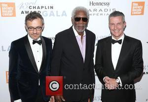 Laurent Vinay, Morgan Freeman and Daniel Reido