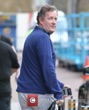 Piers Morgan - Piers Morgan outside ITV Studios - London, United Kingdom - Monday 25th April 2016