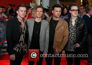 Danny Jones, Dougie Poynter, Harry Judd, Tom Fletcher and Mcfly