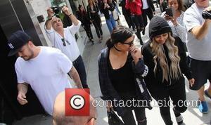 Kim Kardashian, Rob Kardashian and Blac Chyna