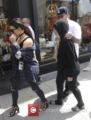 Kim Kardashian, Rob Kardashian and Black Chyna