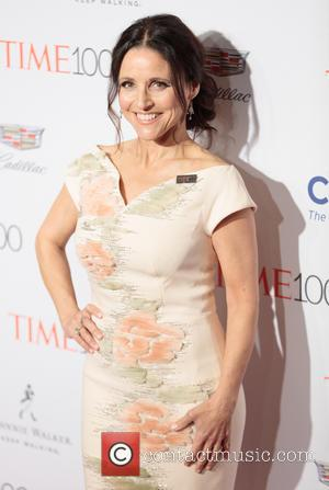 Julia Louis-Dreyfus - 2016 TIME 100 Gala - Arrivals at Lincoln center - New York, United States - Tuesday 26th...