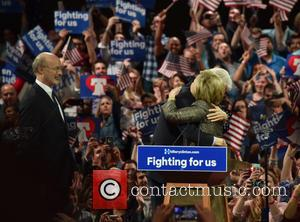 Bill Clinton, Hillary Clinton and Gov Tom Wolf