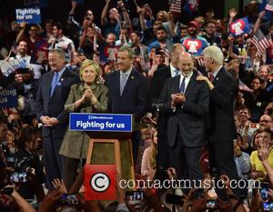 Jim Kenney, Hillary Clinton, Gov Wolf and Bill Clinton