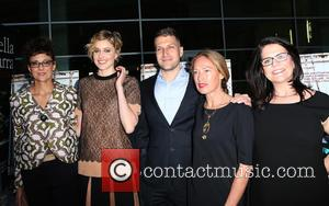 Rebecca Miller, Greta Gerwig, Damon Cardasis, Rachel Horovitz and Lucy Barzun Donnelly