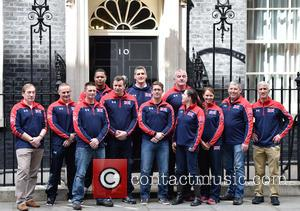 Invictus Team - Prime Minister David Cameron meets members of the UK Invictus Games Team at Downing Street at Downing...