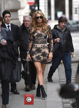 Paris Hilton - Paris Hilton leaving her hotel - London, United Kingdom - Wednesday 27th April 2016