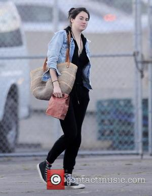 Shailene Woodley - Shailene Woodley arrives on the set of 'Big Little Lies' in Hollywood while co-star Nicole Kidman gets...