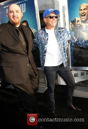Director Peter Atencio and Jean-claude Van Damme