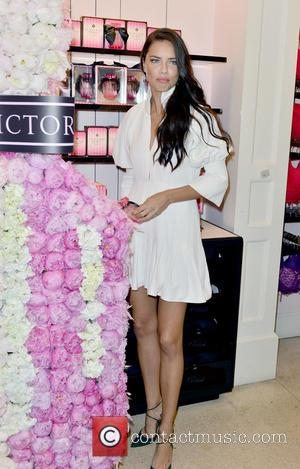 Adriana Lima - Adriana Lima is seen at the Victoria's Secret Bombshell event at Victoria's Secret - Miami Beach on...