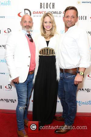 Julian Bennett, Kimberly Wyatt and Nikos Liolios