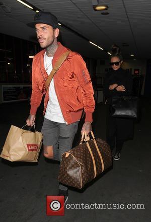Megan McKenna , Pete Wicks - 'The Only Way Essex' stars Megan Mckenna and Pete Wicks arrive at Euston Station,...