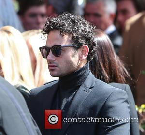 Ryan Thomas - The funeral of David Gest at Golders Green Crematorium - London, United Kingdom - Friday 29th April...