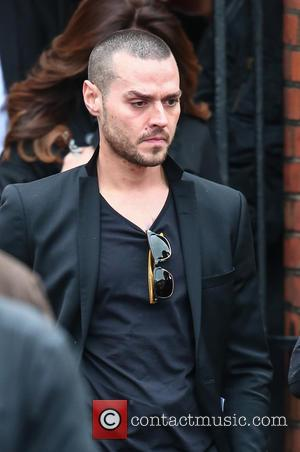 Matt Willis - The funeral of David Gest at Golders Green Crematorium - London, United Kingdom - Friday 29th April...