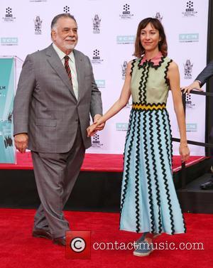Francis Ford Coppola and Gia Coppola