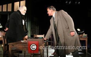 William Gaminara and Hugh Bonneville