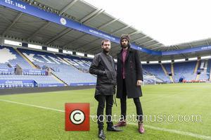 Kasabian - Kasabian announce their stadium gig at the King Power Stadium - Leicester City Football Club's stadium - London,...