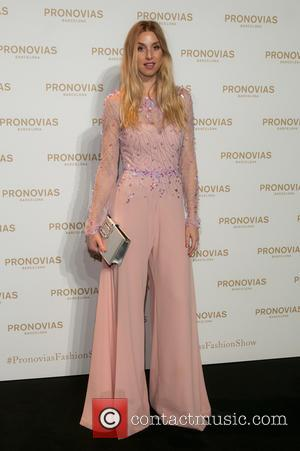 Whitney Port - Photocall for Pronovias bridal collection during the 'Barcelona Bridal Fashion Week 2016' at Italian Pavilion of Fira...