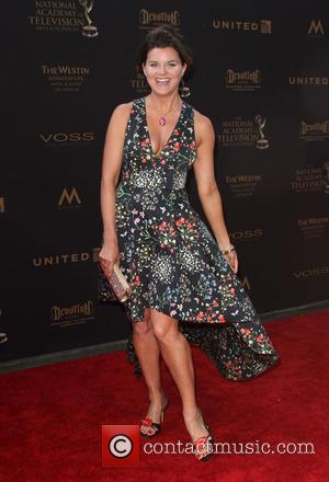 Heather Tom - 43rd Annual Daytime Creative Arts Emmy Awards 2016 at the Westin Bonaventure Hotel & Suites - Arrivals...