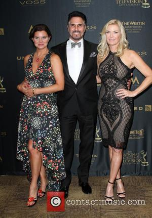 Heather Tom, Don Diamont , Katherine Kelly Lang - 43rd Annual Daytime Creative Arts Emmy Awards 2016 held at the...