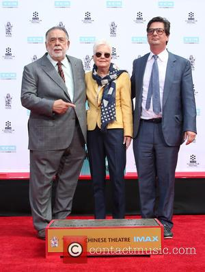 Francis Ford Coppola, Eleanor Coppola and Roman Coppola