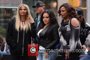 Salt-N-Pepa , DJ Spinderella - 'Today Show'- I Love the 90's concert - New York, New York, United States -...