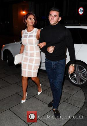 Amy Childs , Dino Warren - Danielle Lloyd's engagement party at Geisha Birmingham - Birmingham, United Kingdom - Saturday 30th...