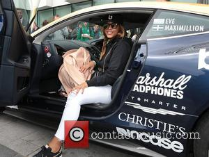 Rapper Eve - Celebrities at The Marker Hotel for Gumball 3000 - Dublin, Ireland - Saturday 30th April 2016