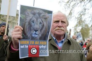 James Cosmo - Actors James Cosmo and Virginia McKenna join animal charity campaigners at Downing Street calling for action to...