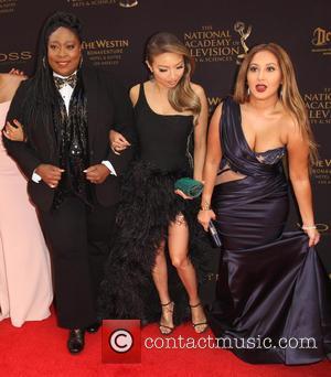 Loni Love, Jeannie Mai and Adrienne Bailon