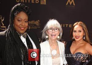 Rita Moreno, Loni Love and Adrienne Bailon