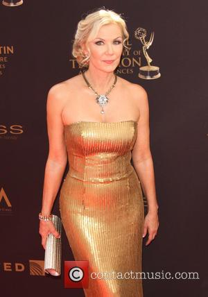 Katherine Kelly Lang - 43rd Annual Daytime Emmy Awards Arrivals 2016 held at the Westin Bonaventure Hotel and Suites at...