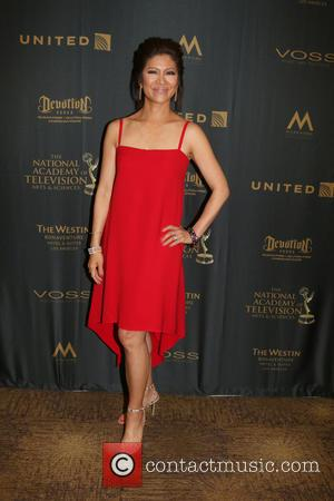 Julie Chen - 43rd Daytime Emmy Awards held at the Westin Bonaventure Hotel - Press Room at Bonaventure Hotel, Daytime...