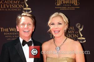 Bradley Bell and Katherine Kelly Lang