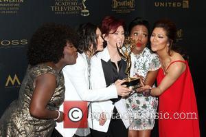 Sheryl Underwood, Sara Gilbert, Sharon Osbourne, Aisha Tyler and Julie Chen Of The Talk