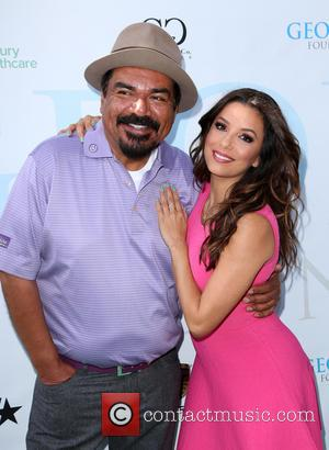 George Lopez , Eva Longoria - The Ninth Annual George Lopez Celebrity Golf Classic at Lakeside Golf Club, Celebrity Golf...