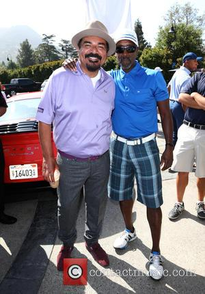 George Lopez and Don Cheadle