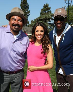 George Lopez, Eva Longoria and Arsenio Hall