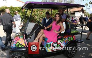 Arsenio Hall, Eva Longoria and George Lopez