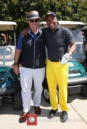 Andy García and Sugar Ray Leonard