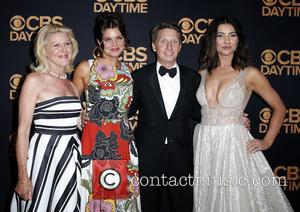 Jensen Buchanan, Heather Tom, Bradley Bell and Jacqueline Macinnes Wood
