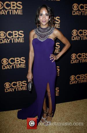 Christel Khalil - CBS Day Time Emmy After Party Red Carpet Arrivals at Alexandria Ballroom Los Angeles, CA at Alexandria...